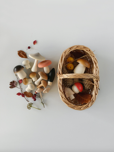 Forest Mushroom Basket - TREEHOUSE kid and craft
