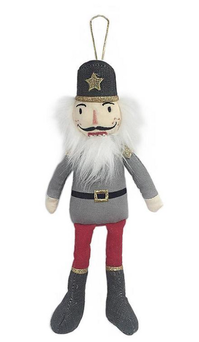 Nutcracker Plush Doll Ornament - TREEHOUSE kid and craft