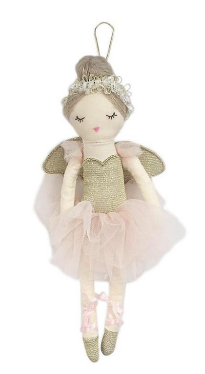 Sugar Plum Fairy Doll Ornament