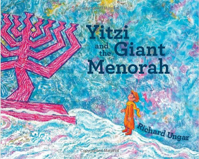 Yitzi and the Gaint Menorah - TREEHOUSE kid and craft