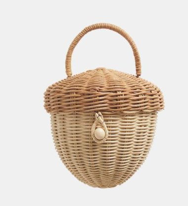 Rattan Acorn Bag - TREEHOUSE kid and craft