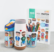 Load image into Gallery viewer, My Family Mix and Match Stickers - TREEHOUSE kid and craft
