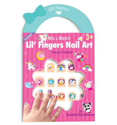 Lil' Fingers Nail Art - TREEHOUSE kid and craft