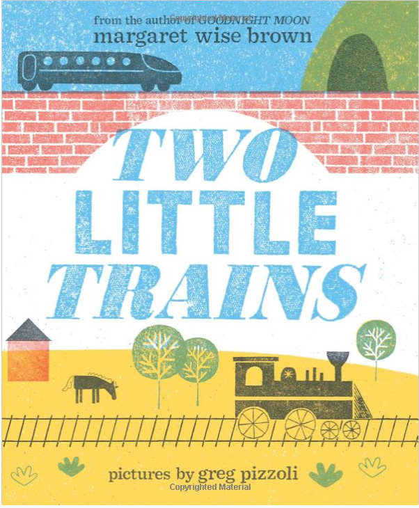 Two Little Trains - TREEHOUSE kid and craft