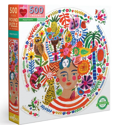 Positivity 500 Pc. Puzzle - TREEHOUSE kid and craft