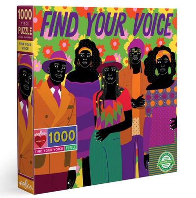Find Your Voice Puzzle - TREEHOUSE kid and craft
