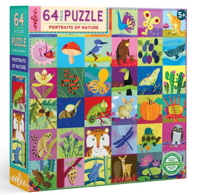 Portraits of Nature Puzzle - TREEHOUSE kid and craft