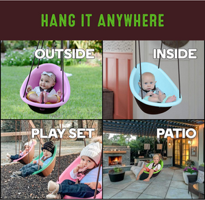Swerfer Kiwi Toddler Swing - TREEHOUSE kid and craft