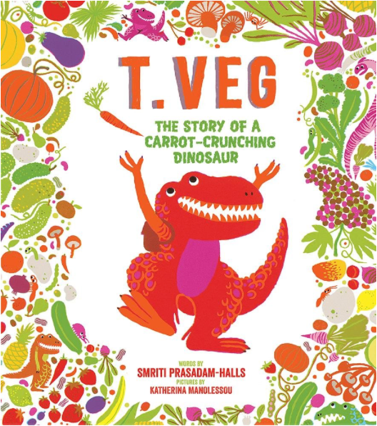 T. Veg: The Story of a Carrot-Crunching Dinosaur - TREEHOUSE kid and craft