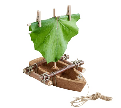 Terra Kids Cork Boat Kit - TREEHOUSE kid and craft