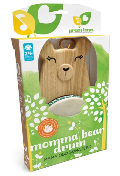 Momma Bear Drum with Mallet - TREEHOUSE kid and craft
