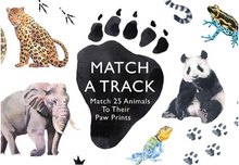 Load image into Gallery viewer, Match a Track - TREEHOUSE kid and craft