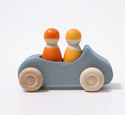 Large Convertible Wooden Car - TREEHOUSE kid and craft