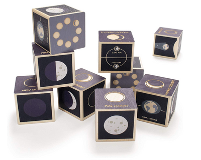 Moon Phase Blocks - TREEHOUSE kid and craft