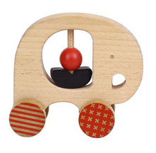 Load image into Gallery viewer, Wooden Push Along - TREEHOUSE kid and craft