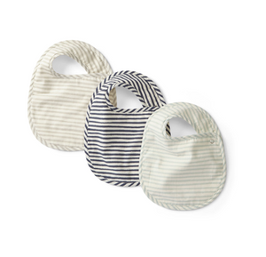 Stripes Away Bib - TREEHOUSE kid and craft