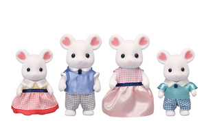 Marshmellow Mouse Family - TREEHOUSE kid and craft