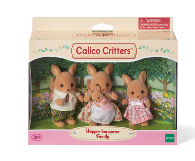 Hopper Kangaroo Family - TREEHOUSE kid and craft