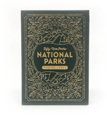 National Parks Card Deck - TREEHOUSE kid and craft