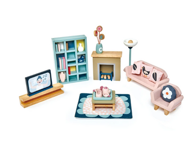 Dovetail Dollhouse Furniture Sets - TREEHOUSE kid and craft