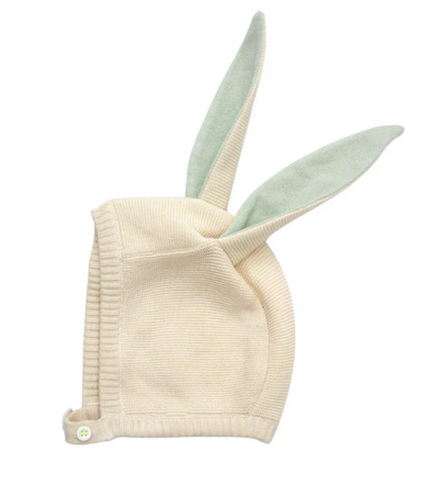 Mint Baby Bunny Hat