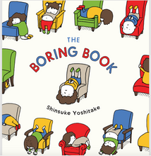 Load image into Gallery viewer, the boring book - TREEHOUSE kid and craft