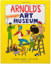Load image into Gallery viewer, Arnold's Extraordinary Art Museum - TREEHOUSE kid and craft
