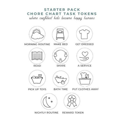 Chore Chart Token Packs - TREEHOUSE kid and craft