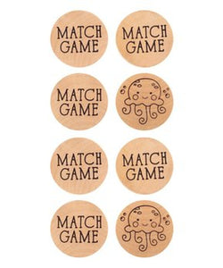 Wooden Match Game - TREEHOUSE kid and craft