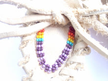 Load image into Gallery viewer, Rainbow Beaded Baby Moccasins - TREEHOUSE kid and craft