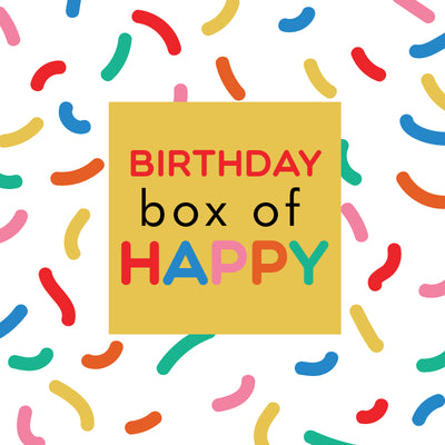 birthday Box of Happy - TREEHOUSE kid and craft
