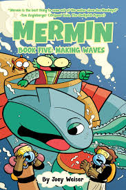 Mermin Book Five: Making Waves - TREEHOUSE kid and craft