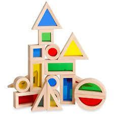 Guidecraft Junior Rainbow Blocks (40 pieces) - TREEHOUSE kid and craft