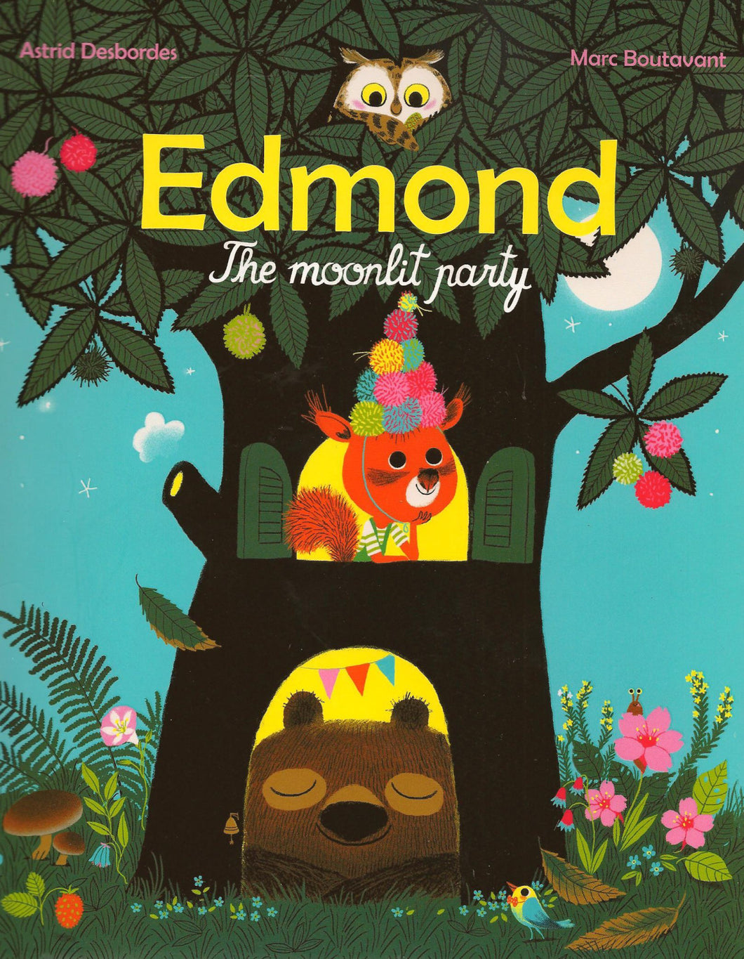 Edmond The Moonlit Party - TREEHOUSE kid and craft