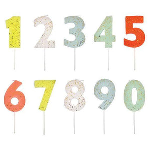 Number Candles - TREEHOUSE kid and craft