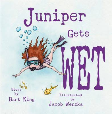 Juniper Gets Wet - TREEHOUSE kid and craft