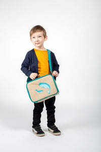 Insulated Linen Lunchboxes - TREEHOUSE kid and craft