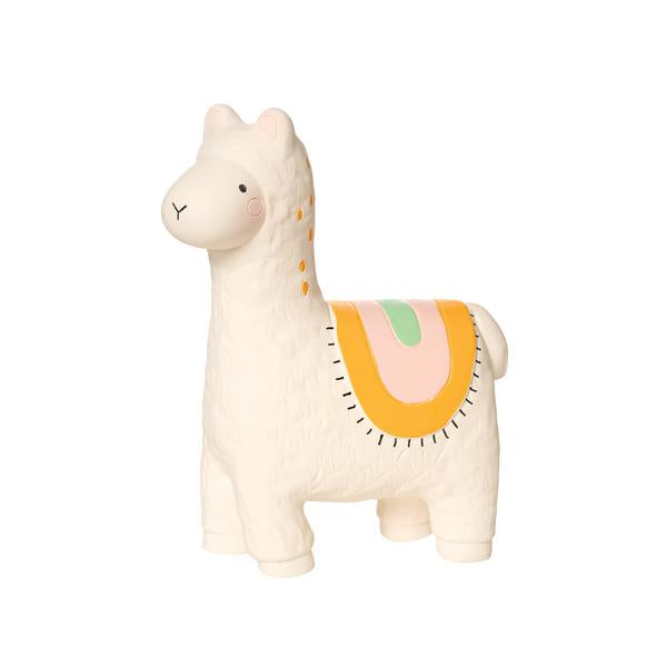 llama rubber teether - TREEHOUSE kid and craft