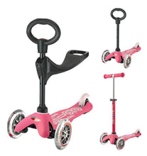 Load image into Gallery viewer, Mini 3in1 Deluxe Scooters: Assorted Colors - TREEHOUSE kid and craft