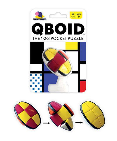 Qboid :: 123 pocket puzzle - TREEHOUSE kid and craft