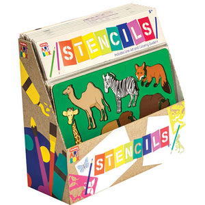 Art Box Stencils - TREEHOUSE kid and craft