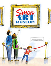 Load image into Gallery viewer, Simon at the Art Museum - TREEHOUSE kid and craft