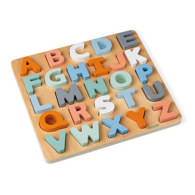 Sweet Cocoon Alphabet Puzzle - TREEHOUSE kid and craft