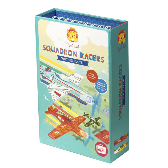 Squadron Racers Coloring Set - TREEHOUSE kid and craft