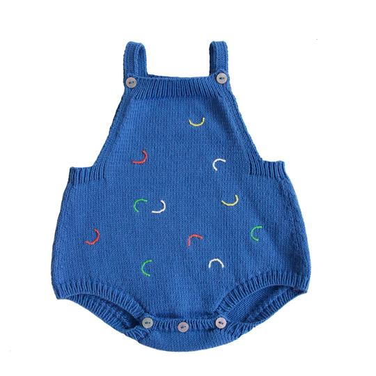 Hockney Cobalt Romper - TREEHOUSE kid and craft