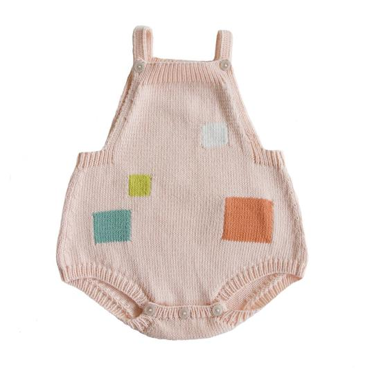 Mondrian Pink Romper - TREEHOUSE kid and craft