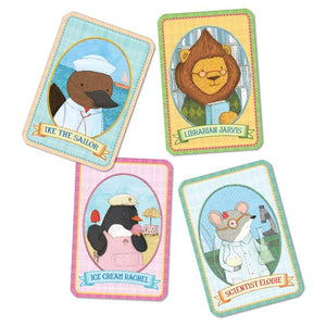 Animal Old Maid - TREEHOUSE kid and craft
