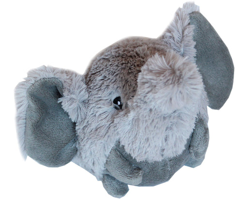 Roundimal Squeaky Dog Toy Elephant