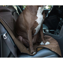Load image into Gallery viewer, TAN UNIVERSAL WATERPROOF BUCKET SEAT COVER BY MAJESTIC PET PRODUCTS