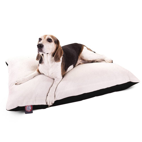 30X40 BLACK MEDIUM RECTANGLE DOG BED